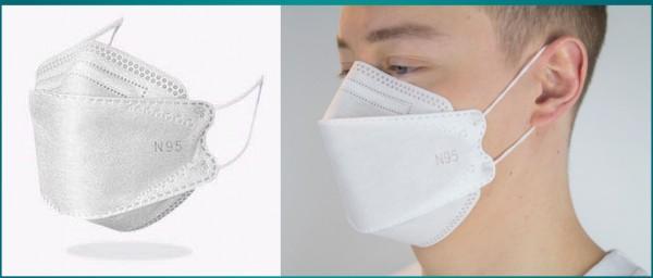 Mundschutzmaske FFP2 Atemschutzmaske N95