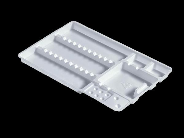 Euronda Kunststoff-Normtrays zum Einmalgebrauch