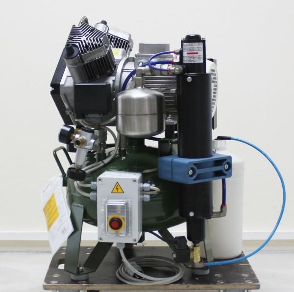 Cattani 2 Zylinder Kompressor 25 l Tank