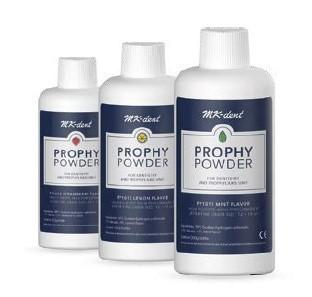 Prophy Powder Pulver für Pulverstrahlgeräte, 4 Flaschen