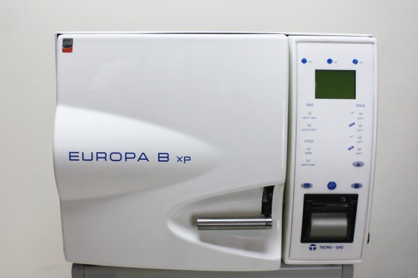 Europa B xP Sterilisator Klasse B Tecno Gaz Vacuum