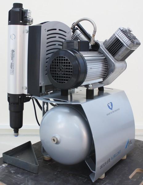 Dürr DUO Kompressor Typ: 5252 - 51 Bj: 2009 mit aktueller Membrantrocknung