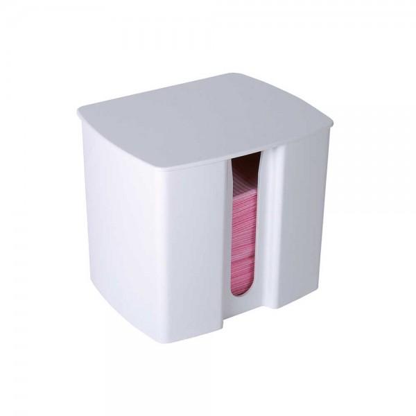 Unigloves Spender für Patientenservietten, Kunststoffgehäuse für ca. 50 Stück