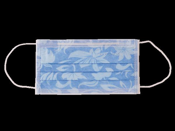 Euronda Monoart PRO 3 Mundschutzmasken Gummizug flower - in verschiedenen Farben