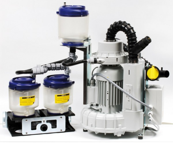 EXCOM hybrid A5 – ECO II Tandem Trocken - und Nassabsaugung mit AG