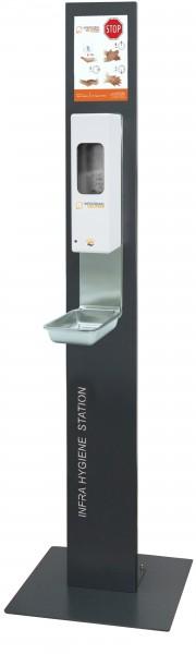 Infratronic Infra Hygiene Station mit Standfuß
