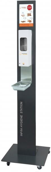 Infratronic Hygiene Station mit Rollen inkl. Spender