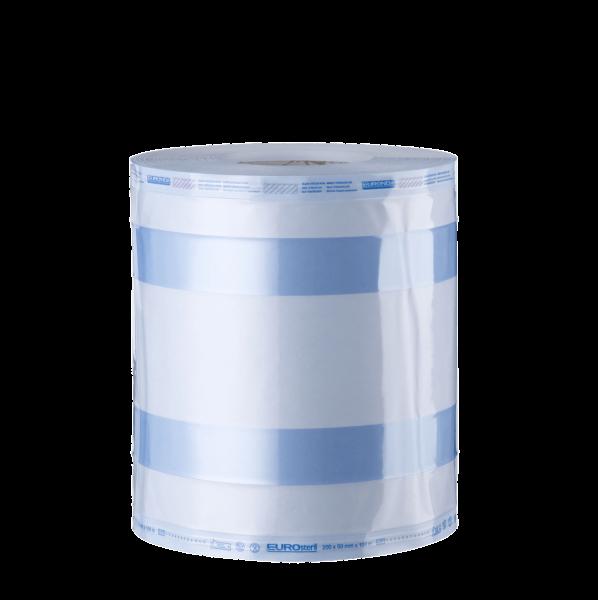 Euronda Eurosteril Sterilisationsrolle mit Falte in 200mm oder 250mm Breite