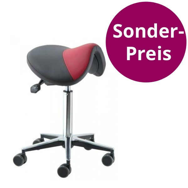 Sattelstuhl - Arbeitssessel - Ergonomisches Sitzen - im Sattel - NEU