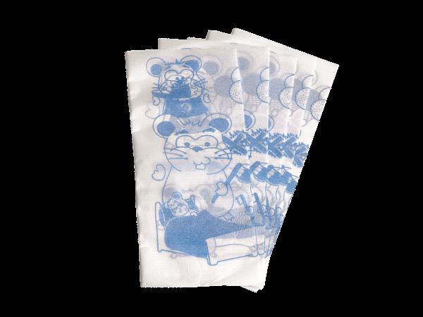 Euronda Monoart Kinderservietten blau