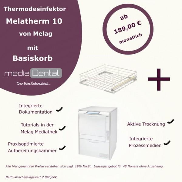Aktionsangebot MELAG Melatherm 10 mit Basiskorb
