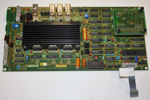 D2 Platine aus Sirona Orthophos D3200 Röntgengerät