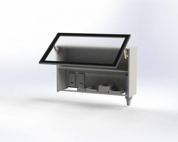 Le-iS Hängeschrank hoch, mit Hochlifttür, in verschiedenen Varianten