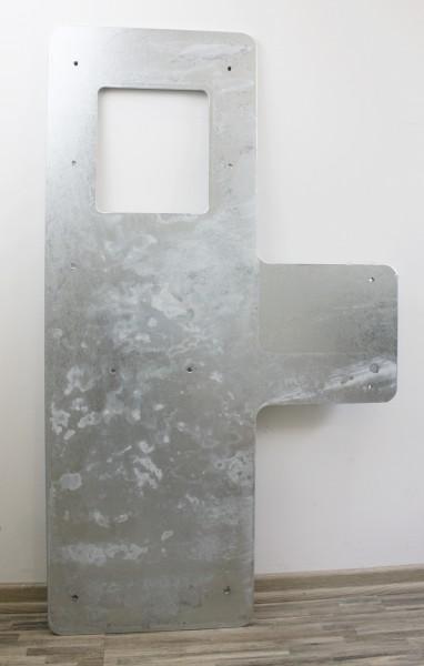Montageplatte aus verzinktem Stahl