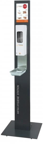 Infratronic Hygiene Station mit Standfuß inkl. Spender